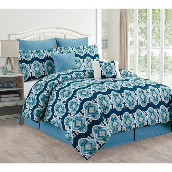 Amber Diamond 8-piece Comforter Set