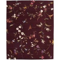 Rug Squared Beaumont Ruby Rug (7'6 x 9'6)