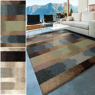 Euphoria Collection Capizzi Multi Olefin Area Rug 7 10 X