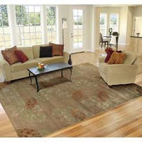 "Rug Squared Beaumont Brown Rug (7'6 x 9'6) - 7'6"" x 9'6"""