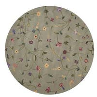Rug Squared Beaumont Light Green Rug - 8' Round