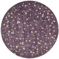 Rug Squared Beaumont Lavender Rug (8' Round) - 8'
