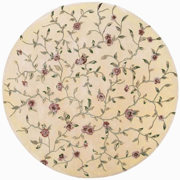 Rug Squared Beaumont Light Gold Rug - 6' Round