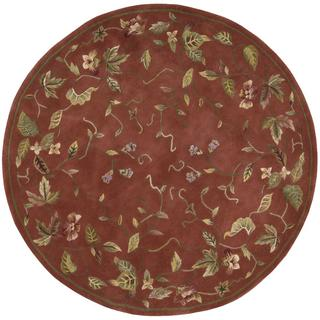 Rug Squared Beaumont Persimmon Rug (8' Round)