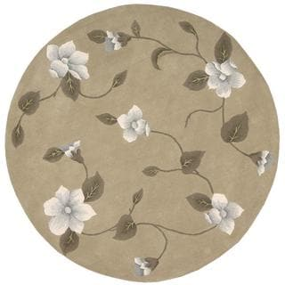 Rug Squared Beaumont Light Gold Rug (8' Round)