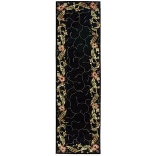 Rug Squared Beaumont Black Rug (2'3 x 8')