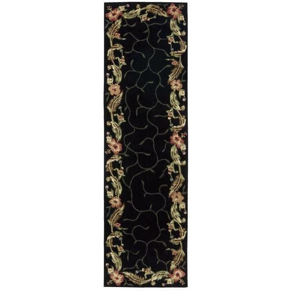 Rug Squared Beaumont Black Rug - 2'3 x 8'