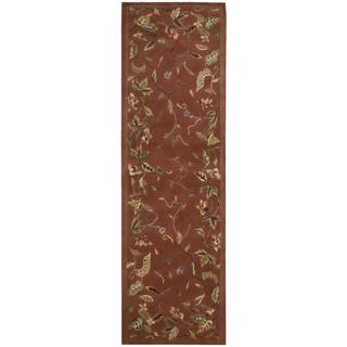 Rug Squared Beaumont Persimmon Rug (2'3 x 8')