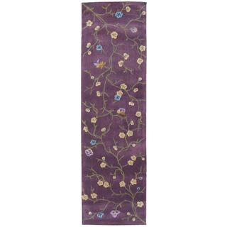 Rug Squared Beaumont Lavender Rug (2'3 x 8')