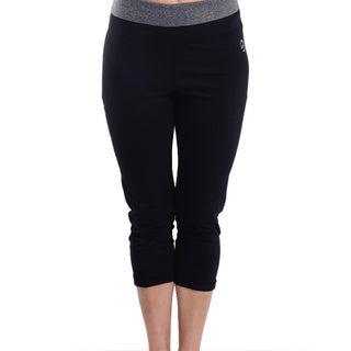 Women's Body Motion Gear Grey Waist Capri