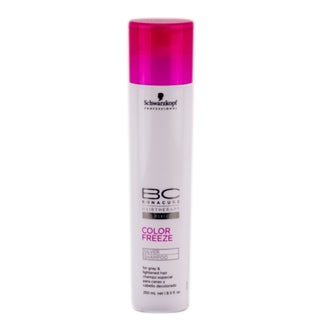 Schwarzkopf Professionals BC Bonacure Color Freeze 8.5-ounce Silver Shampoo