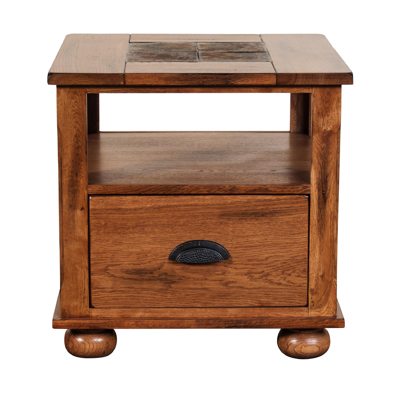 Sunny Designs Sedona Single-drawer End Table (Rustiic Oak...