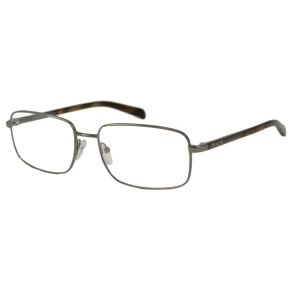 Prada Glasses Half Frame : Prada Mens PR51NV Rectangular Optical Frames - Free ...