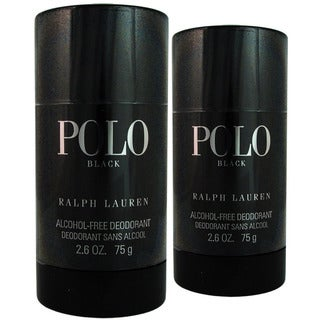 Ralph Lauren Polo Black 2.6-ounce Alcohol Free Deodorant Stick (Pack of 2)