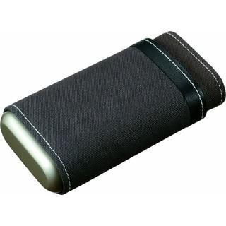 Visol Dimitri Black And Grey Cigar Case (Three cigars)