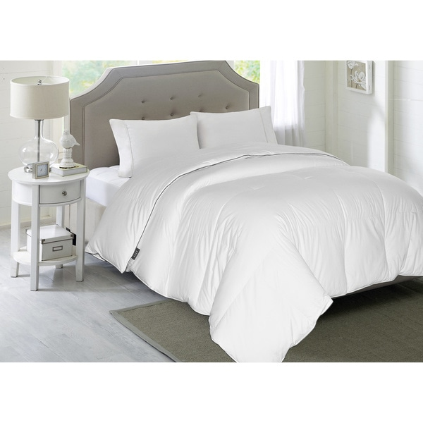 elle thread count white down comforter