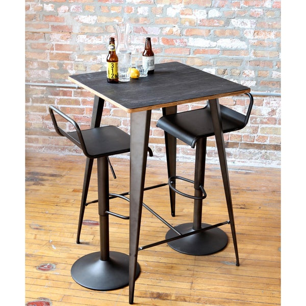 Emery Industrial Barstool  sc 1 st  Overstock.com : bar stool industrial - islam-shia.org