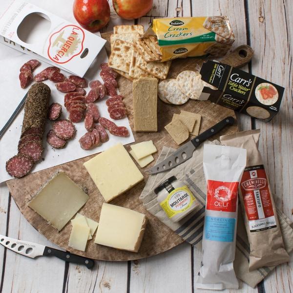 igourmet Ultimate Salami and Cheese Snacking Assortment