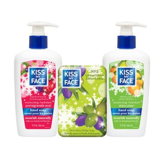 Kiss My Face Holiday Soaps Collection