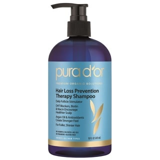Pura D'or Argan Oil 16-ounce Premium Organic Hair Loss Prevention Shampoo