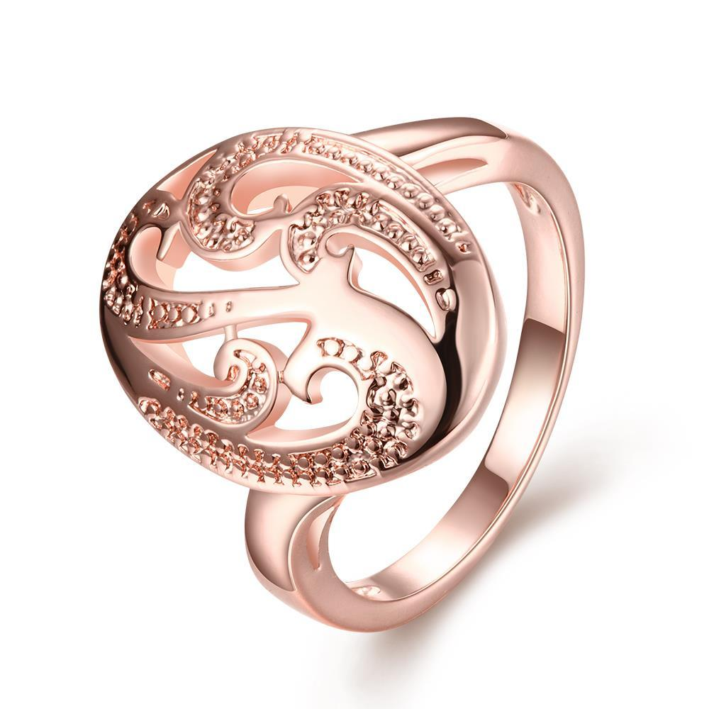 Vienna Jewelry Gold Plated Snake Tail Ring
