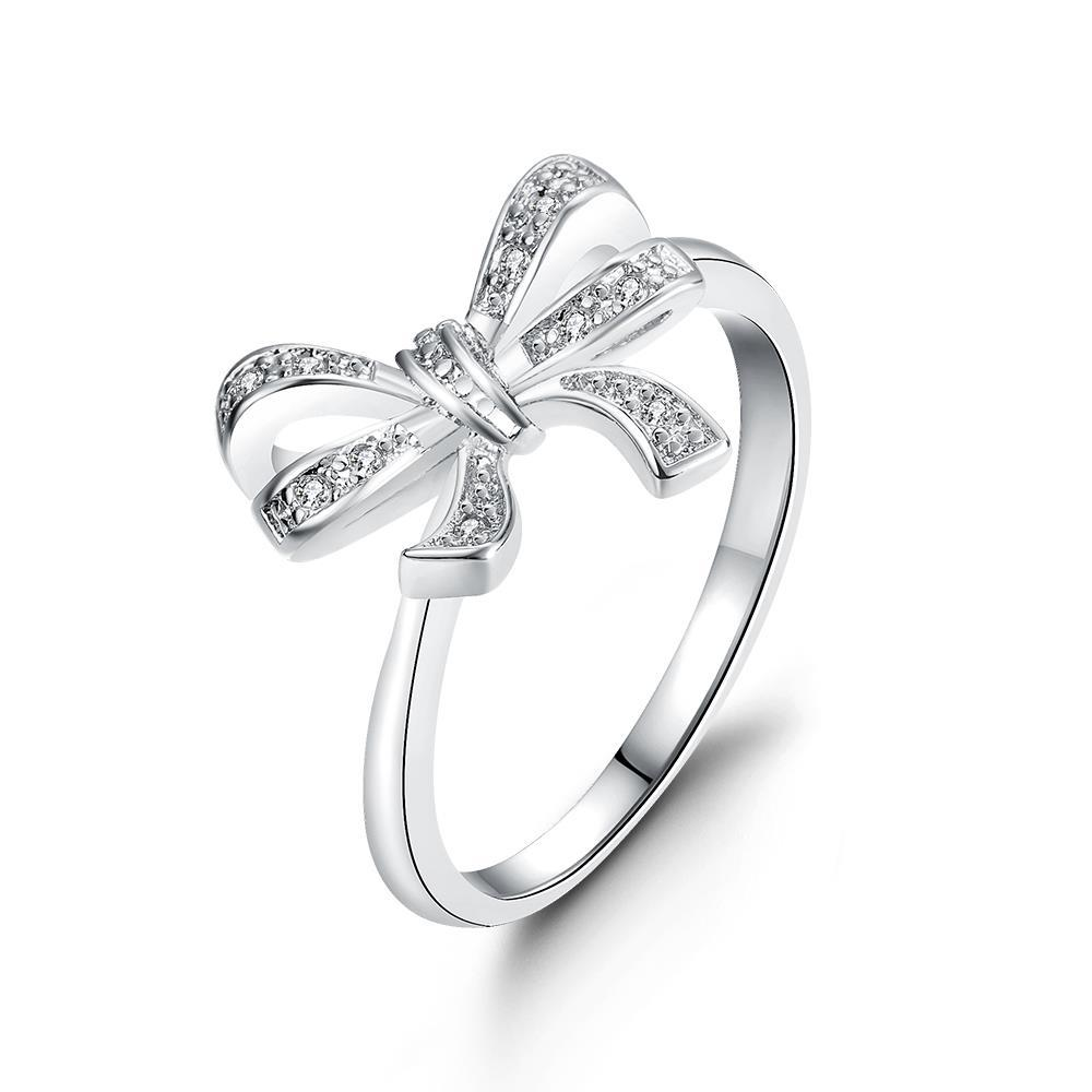 Vienna Jewelry Gold Plated Love Knot Ring