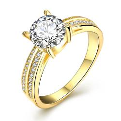 Vienna Jewelry Gold Plated Madison Ave Inspired Ring - Thumbnail 0