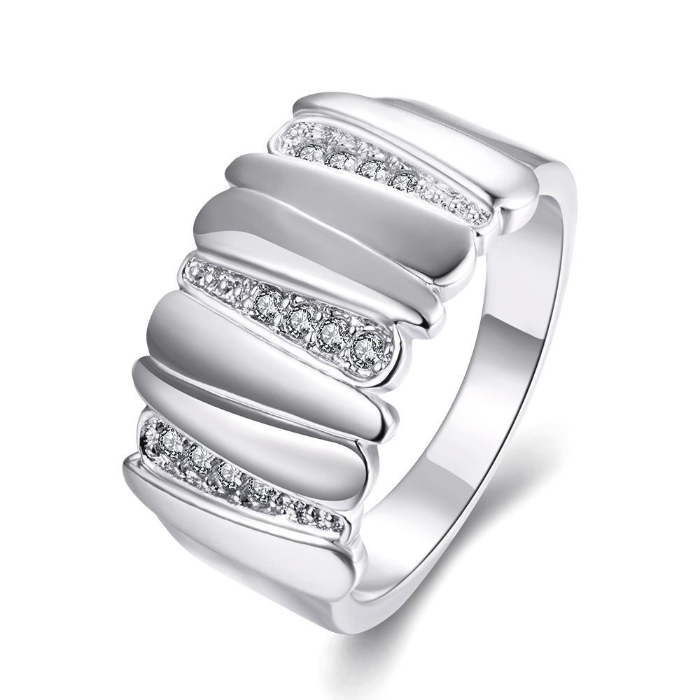 Vienna Jewelry Gold Plated Multi-Layered Plated Ring