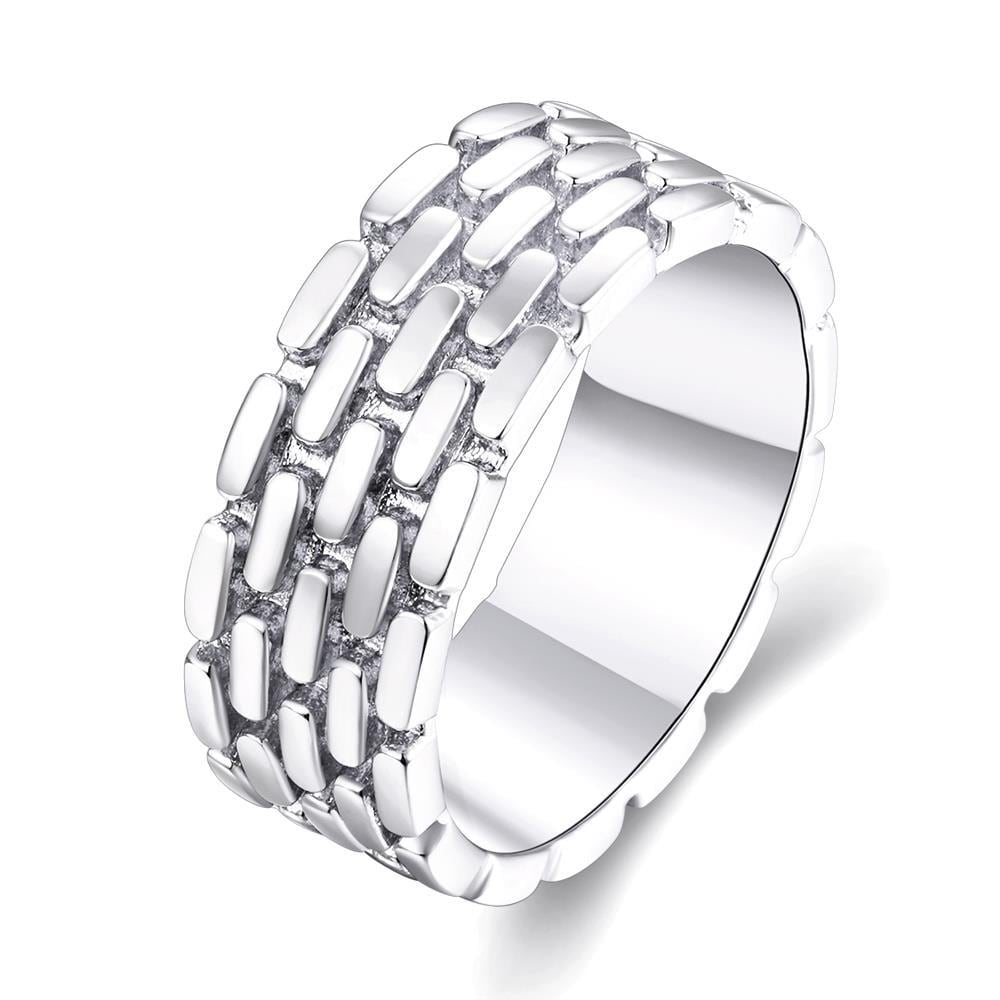 Vienna Jewelry Gold Plated Woven Layering Modern Ring