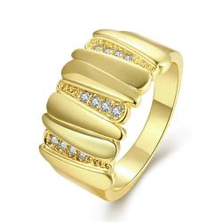 Vienna Jewelry Gold Plated Multi-Layered Plated Ring - Thumbnail 0