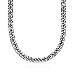 Vienna Jewelry Milan Inspired Stainless Steel Necklace - Thumbnail 0