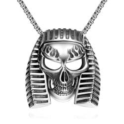Vienna Jewelry Pharaoh's Emblem Stainless Steel Necklace - Thumbnail 0