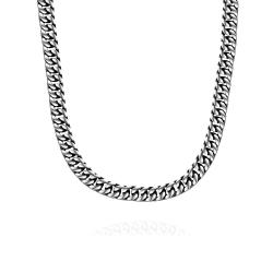 Vienna Jewelry New York Classic Stainless Steel Chain Necklace - Thumbnail 0