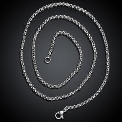 Vienna Jewelry Italian Stainless Steel Chain 18 inches - Thumbnail 0