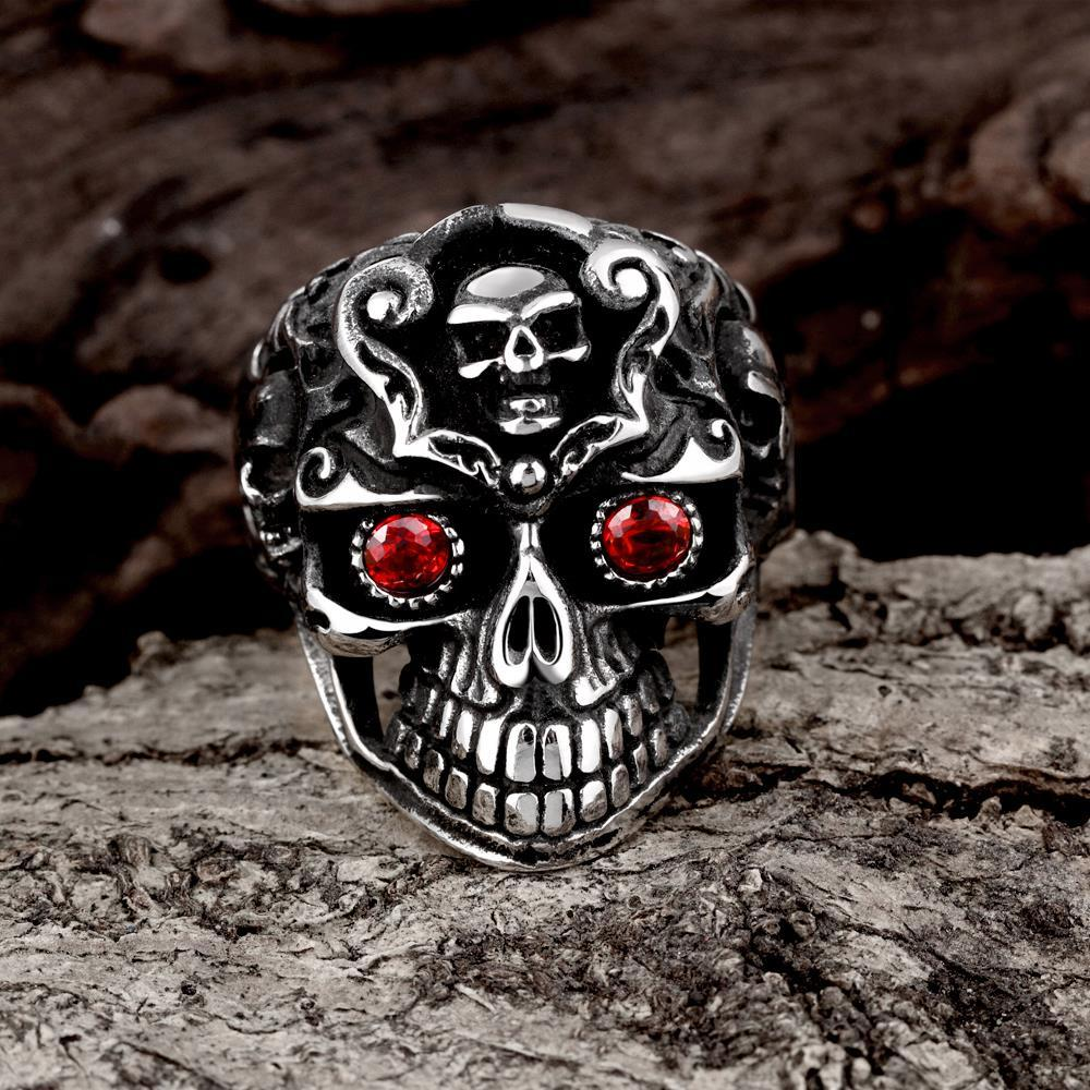 Vienna Jewelry Lord of the Ring's Stainless Steel Ring