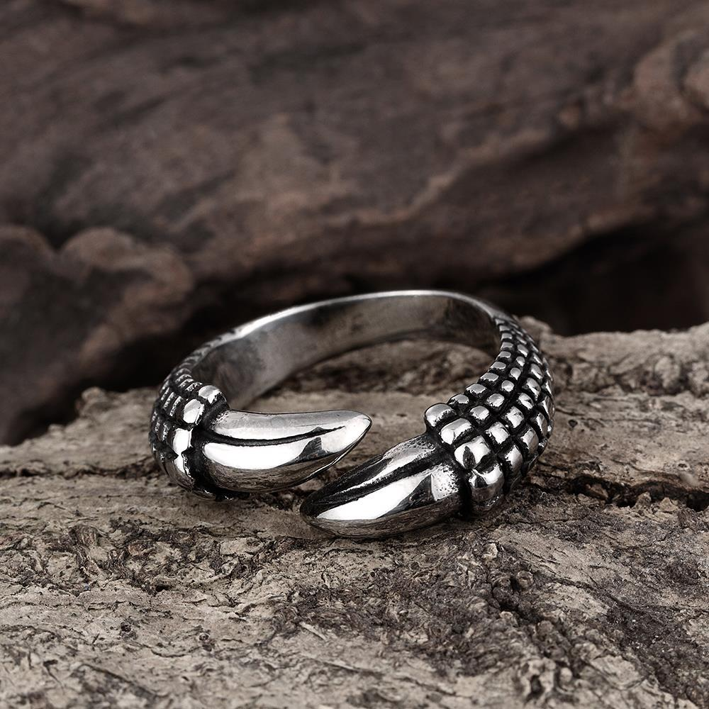 Vienna Jewelry Open Ended Stainless Steel Ring