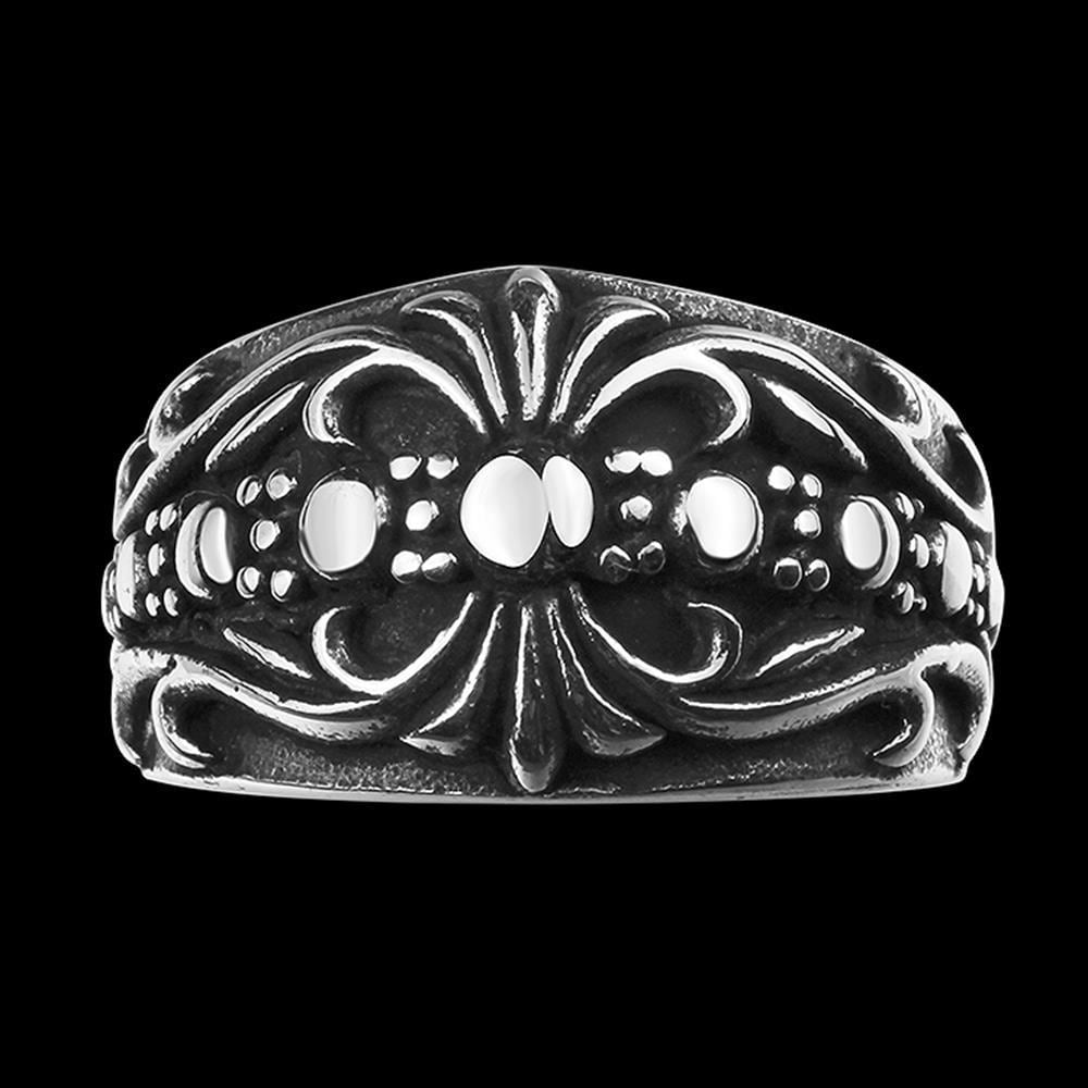 Vienna Jewelry American Classic Stainless Steel Ring