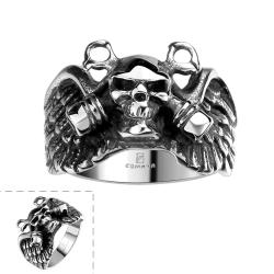 Vienna Jewelry The Persian Army Stainless Steel Ring - Thumbnail 0