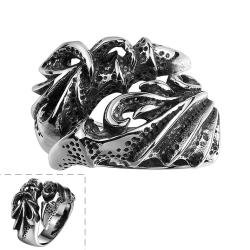 Vienna Jewelry The Colorado Rockies Stainless Steel Ring - Thumbnail 0
