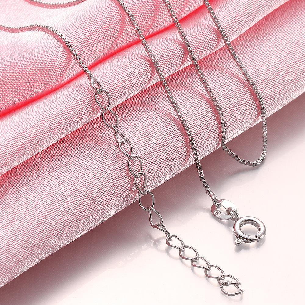 Vienna Jewelry Classic Petite Pearl Chain Necklace