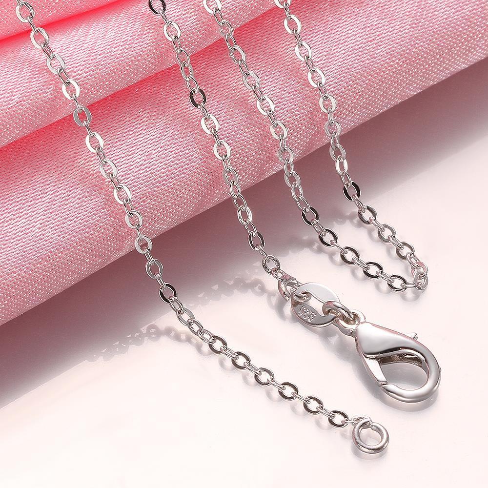 Vienna Jewelry Thin Circular Rounding  Necklace