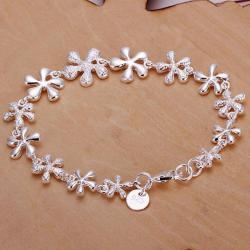 Vienna Jewelry Sterling Silver Multi-Starfish Bracelet - Thumbnail 0