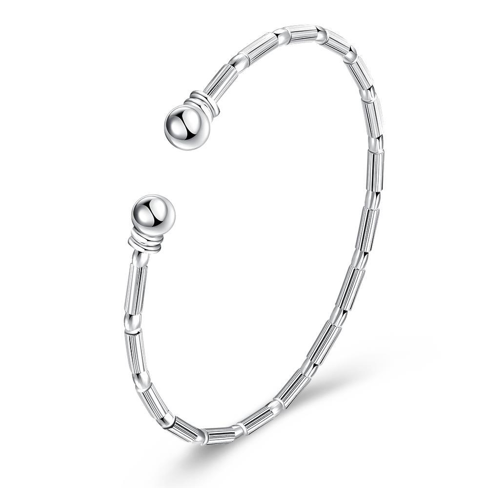 Sterling Silver London Inspired Classic Bangle