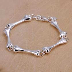 Vienna Jewelry Sterling Silver Multi Dog Treats Bracelet - Thumbnail 0