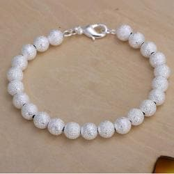 Vienna Jewelry Sterling Silver Muli Classic Pearl Bracelet - Thumbnail 0