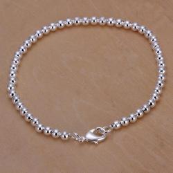 Vienna Jewelry Sterling Silver Petite Bead Bracelet - Thumbnail 0