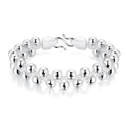 Vienna Jewelry Sterling Silver Multi Pearl Beads Bracelet - Thumbnail 0