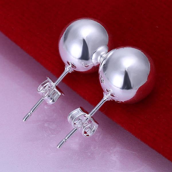 Vienna Jewelry Sterling Silver Mock Crown Pearl Stud Earring