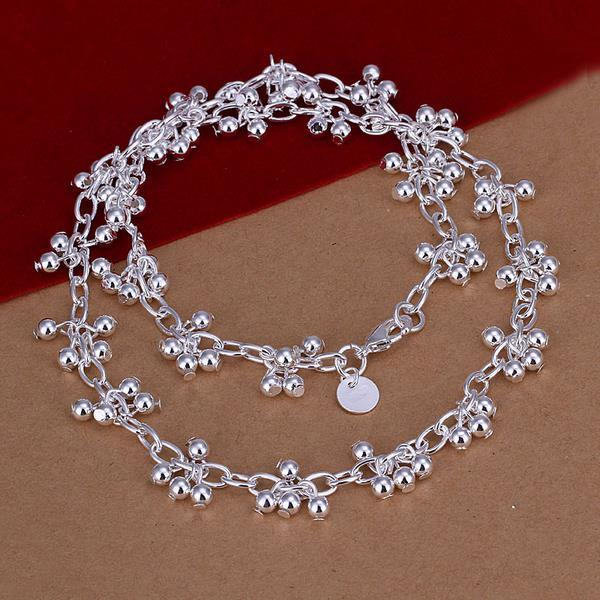 Vienna Jewelry Sterling Silver Multi Pearl Orchid Necklace
