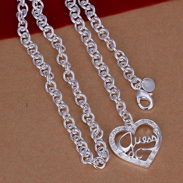 Vienna Jewelry Sterling Silver Necklace